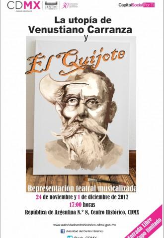 La utopía de Venustiano Carranza y El Quijote