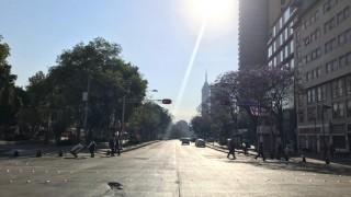 Termina Autoridad del Centro Histórico limpia de pintas de la marcha del domingo