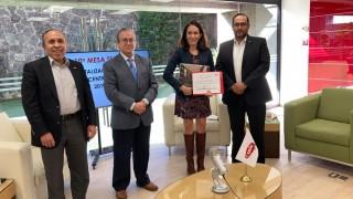 La Autoridad del Centro Histórico fortalece lazos con la  Cámara Mexicana de la Industria de la Construcción CdMx