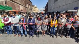Renuevan el Bazar 2 de Abril en el Centro Histórico